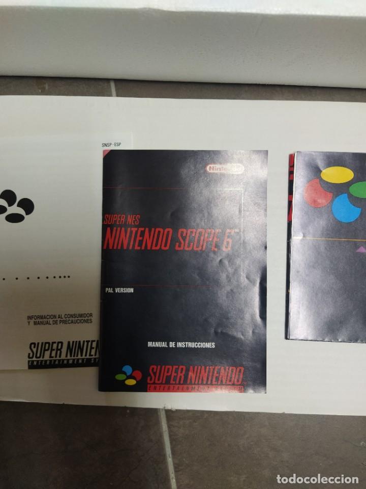 Videojuegos y Consolas: SUPER NINTENDO SCOPE SNES , COMPLETA Y EN MUY BUEN ESTADO - Foto 2 - 261896245