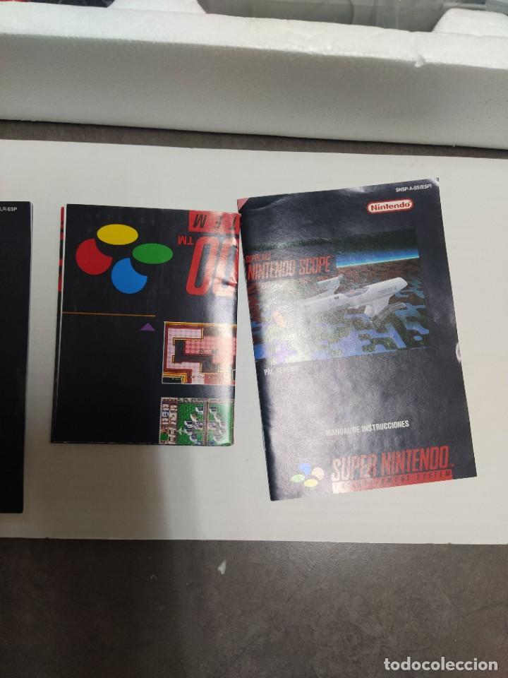 Videojuegos y Consolas: SUPER NINTENDO SCOPE SNES , COMPLETA Y EN MUY BUEN ESTADO - Foto 3 - 261896245