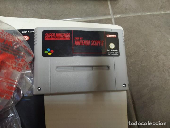 Videojuegos y Consolas: SUPER NINTENDO SCOPE SNES , COMPLETA Y EN MUY BUEN ESTADO - Foto 4 - 261896245
