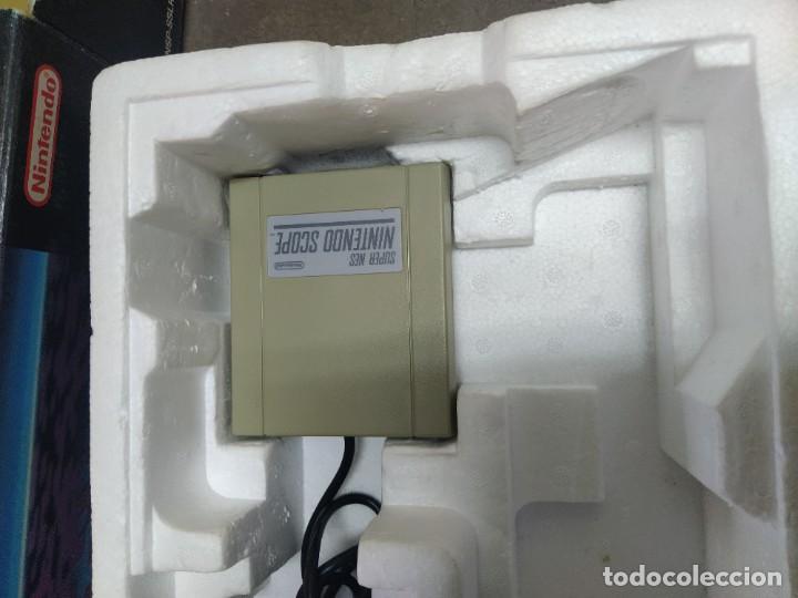 Videojuegos y Consolas: SUPER NINTENDO SCOPE SNES , COMPLETA Y EN MUY BUEN ESTADO - Foto 5 - 261896245