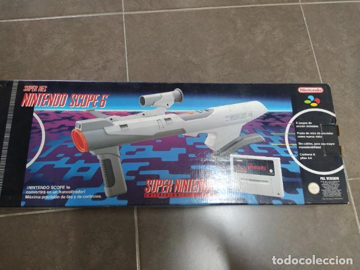 Videojuegos y Consolas: SUPER NINTENDO SCOPE SNES , COMPLETA Y EN MUY BUEN ESTADO - Foto 11 - 261896245