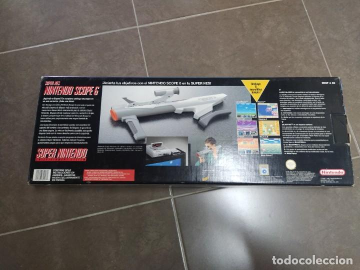 Videojuegos y Consolas: SUPER NINTENDO SCOPE SNES , COMPLETA Y EN MUY BUEN ESTADO - Foto 13 - 261896245