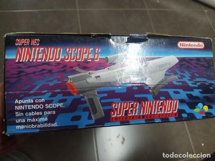 Videojuegos y Consolas: SUPER NINTENDO SCOPE SNES , COMPLETA Y EN MUY BUEN ESTADO - Foto 15 - 261896245