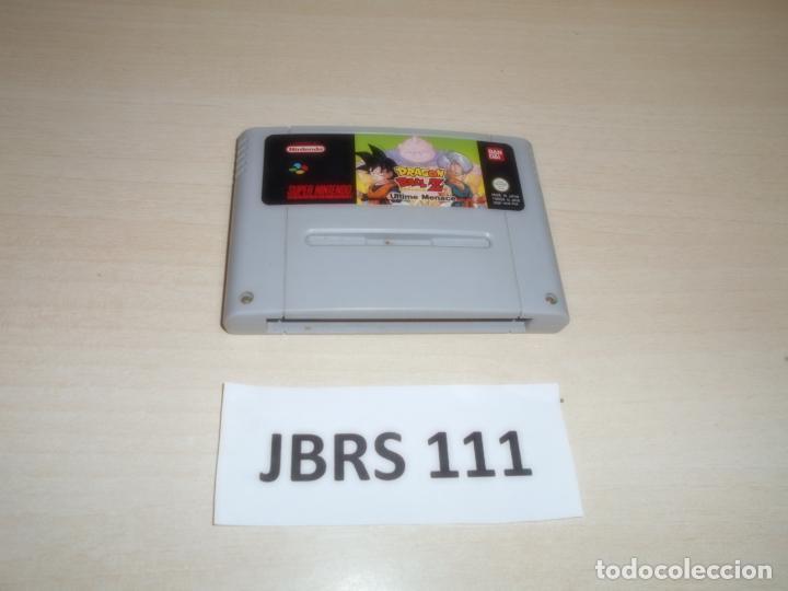 SNES - DRAGON BALL Z ULTIMATE MENACE , PAL UK , COMPLETO (Juguetes - Videojuegos y Consolas - Nintendo - SuperNintendo)