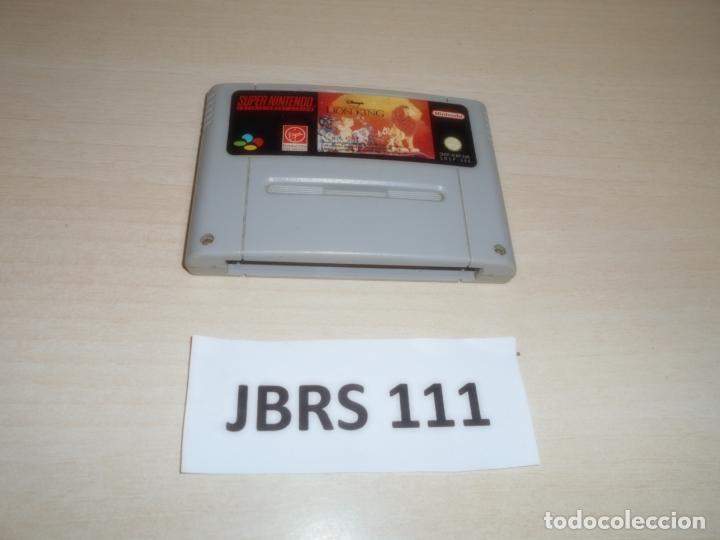 SNES - EL REY LEON , PAL EUROPEO , SOLO CARTUCHO (Juguetes - Videojuegos y Consolas - Nintendo - SuperNintendo)