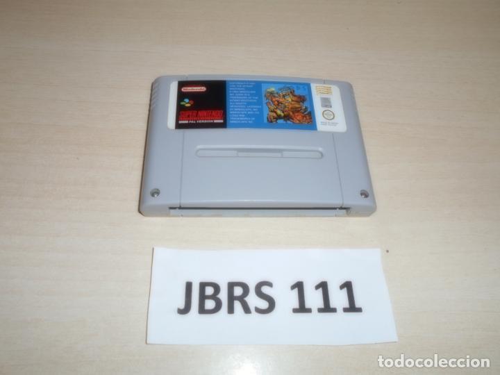 SNES - GODS , PAL ESPAÑOL , SOLO CARTUCHO (Juguetes - Videojuegos y Consolas - Nintendo - SuperNintendo)