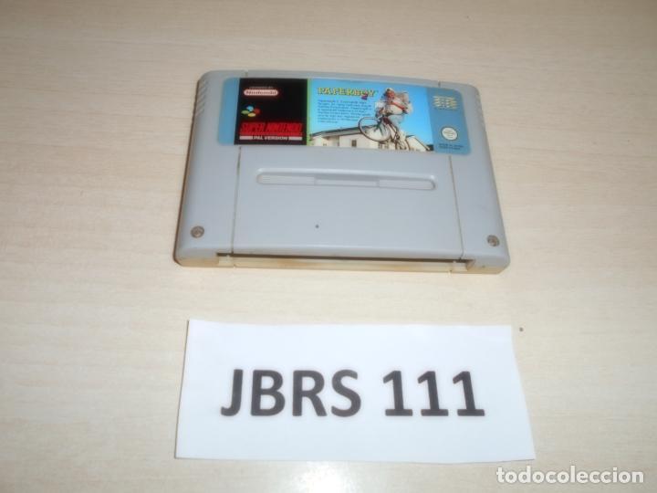 SNES - PAPERBOY , PAL ESPAÑOL , SOLO CARTUCHO (Juguetes - Videojuegos y Consolas - Nintendo - SuperNintendo)