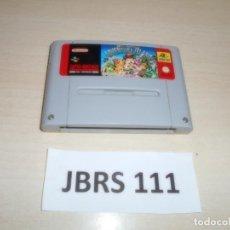 Videojuegos y Consolas: SNES - ADVENTURE ISLAND , PAL ESPAÑOL , SOLO CARTUCHO. Lote 262049985