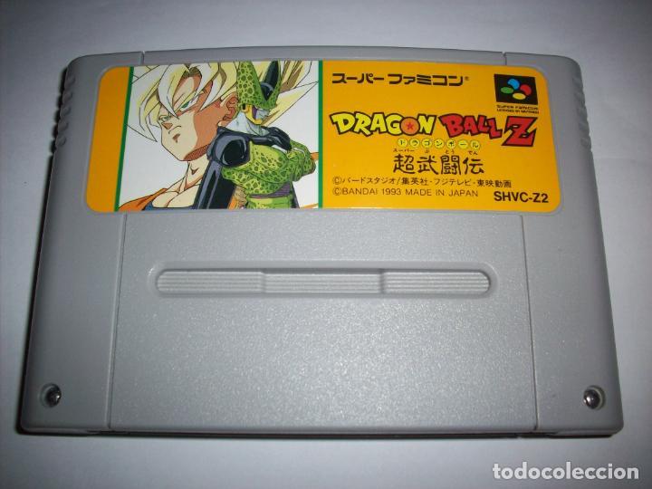 ORIGINAL DRAGON BALL Z SUPER BUTOUDEN SNES SUPER FAMICOM JAPONÉS NINTENDO (Juguetes - Videojuegos y Consolas - Nintendo - SuperNintendo)