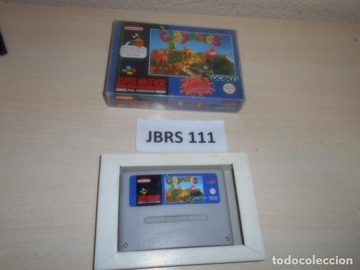 SNES - CLAYMATES , PAL ESPAÑOL , SIN INSTRUCIONES (Juguetes - Videojuegos y Consolas - Nintendo - SuperNintendo)