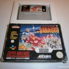 Videojuegos y Consolas: SUPER SMASH TV SUPER NINTENDO SNES PAL ESPAÑA. Lote 262321380