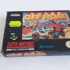 Videojuegos y Consolas: SUPER OFF ROAD SUPER NINTENDO SNES ESPAÑOL. Lote 262322705