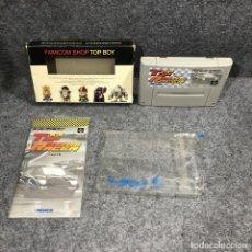 Videojuegos y Consolas: TOP RACER JAP SUPER FAMICOM NINTENDO. Lote 263189075