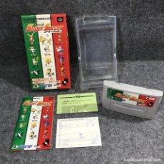 Videojuegos y Consolas: J LEAGUE SUPER SOCCER JAP SUPER FAMICOM NINTENDO. Lote 263189130
