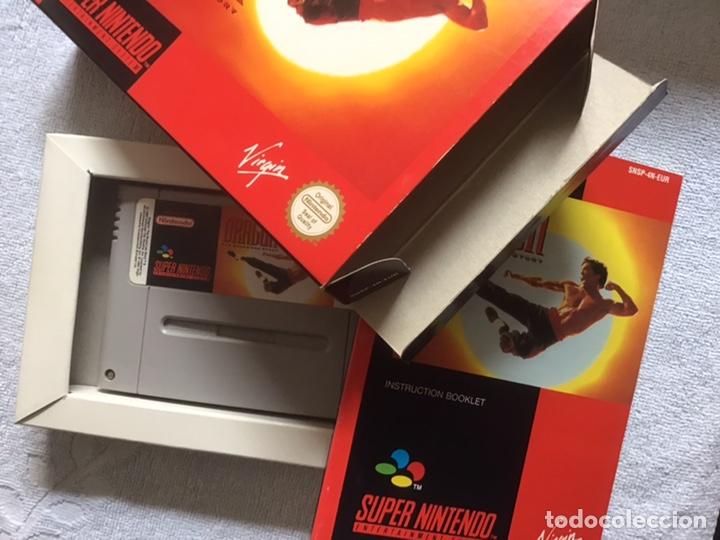 Videojuegos y Consolas: Dragon. The Bruce Lee Story. Super Nintendo. Virgin. Original. Completo. - Foto 3 - 266293438
