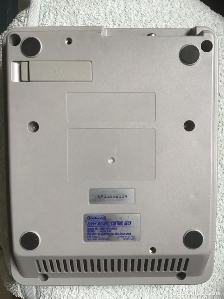 Videojuegos y Consolas: Nintendo. Súper Nes (PAL) Control Deck. Consola. 1992. Made in Japan. + mando. SuperNintendo. - Foto 2 - 266552493