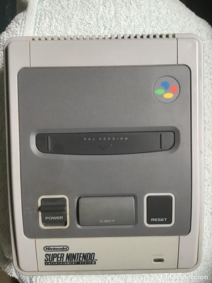 NINTENDO. SÚPER NES (PAL) CONTROL DECK. CONSOLA. 1992. MADE IN JAPAN. + MANDO. SUPERNINTENDO. (Juguetes - Videojuegos y Consolas - Nintendo - SuperNintendo)