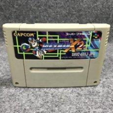 Videojuegos y Consolas: ROCKMAN X 2 JAP SUPER NINTENDO FAMICOM SNES. Lote 269417533