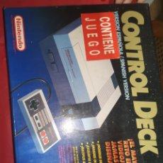 Videojuegos y Consolas: ANTIGUA CONSOLA NINTENDO CONTROL DECK. Lote 270343108