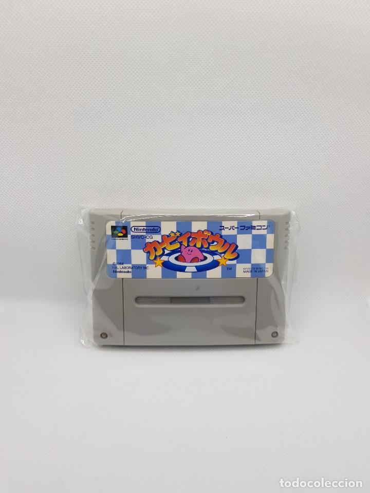 KIRBY BOWL KIRBY'S DREAM COURSE SUPER FAMICOM (Juguetes - Videojuegos y Consolas - Nintendo - SuperNintendo)