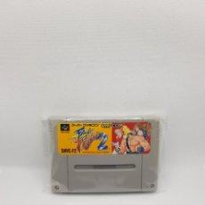 Videojuegos y Consolas: FINAL FIGHT 2 SUPER FAMICOM JAPAN NTSC-J. Lote 270636488