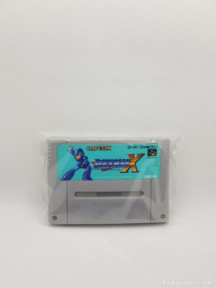 ROCKMAN X MEGAMAN SFC SUPER FAMICOM (Juguetes - Videojuegos y Consolas - Nintendo - SuperNintendo)