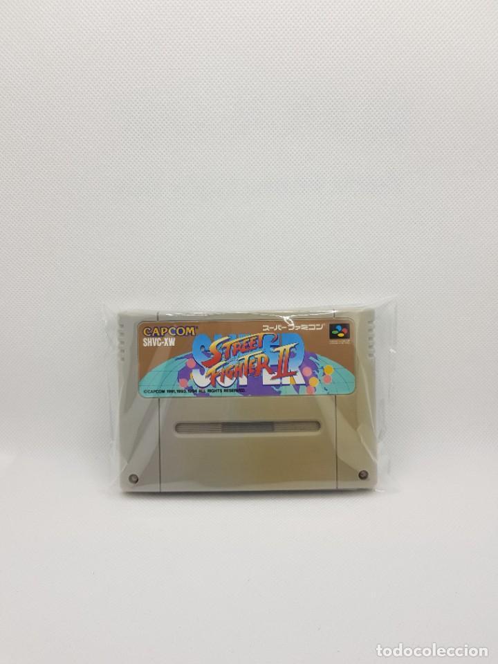 SUPER STREET FIGHTER II 2 SUPER FAMICOM SFC (Juguetes - Videojuegos y Consolas - Nintendo - SuperNintendo)