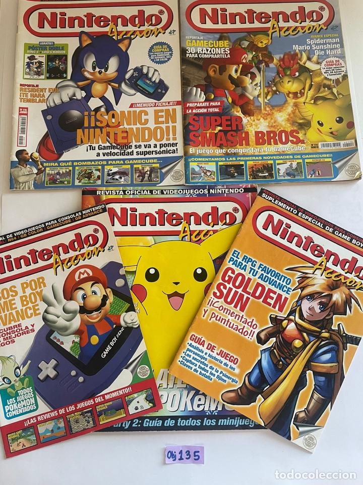 LOTE DE REVISTAS NINTENDO (Juguetes - Videojuegos y Consolas - Nintendo - SuperNintendo)