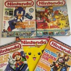 Videojuegos y Consolas: LOTE DE REVISTAS NINTENDO. Lote 272782268