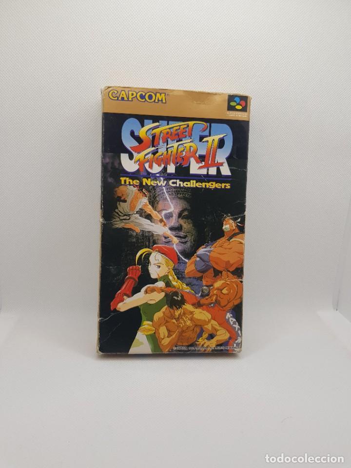 SUPER STREET FIGHTER II BOXED SUPER FAMICOM (Juguetes - Videojuegos y Consolas - Nintendo - SuperNintendo)