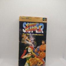 Videojuegos y Consolas: SUPER STREET FIGHTER II BOXED SUPER FAMICOM. Lote 274406918
