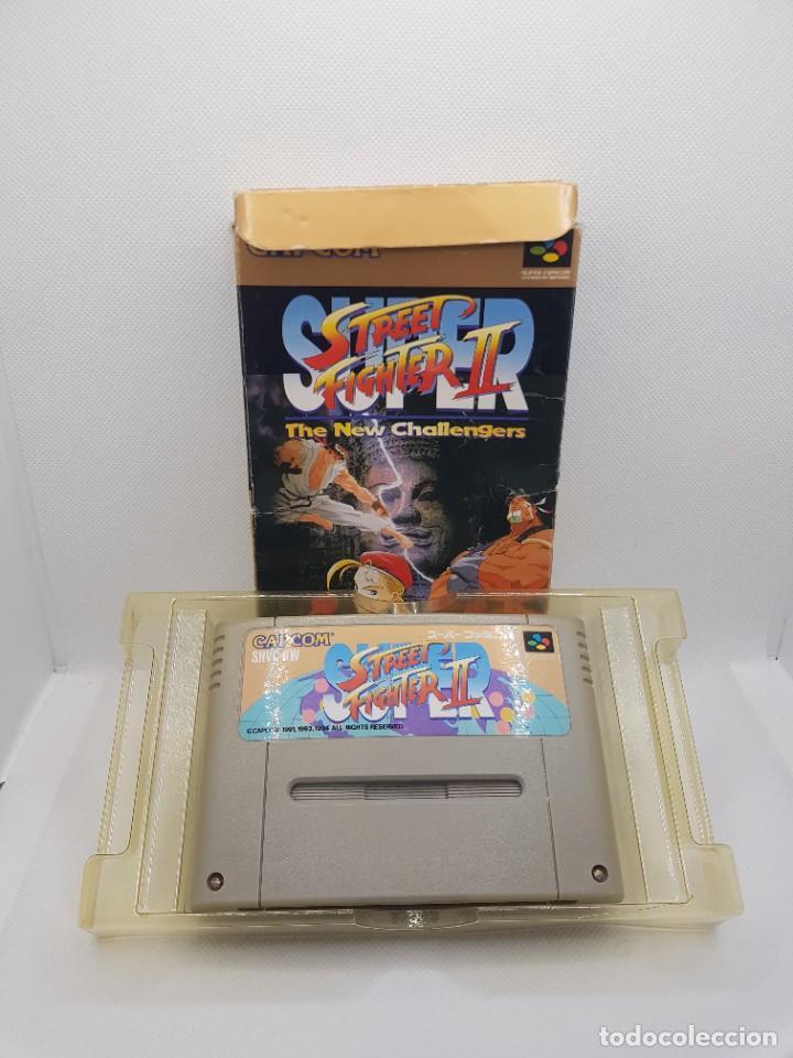 Videojuegos y Consolas: Super Street Fighter II BOXED Super Famicom - Foto 3 - 274406918