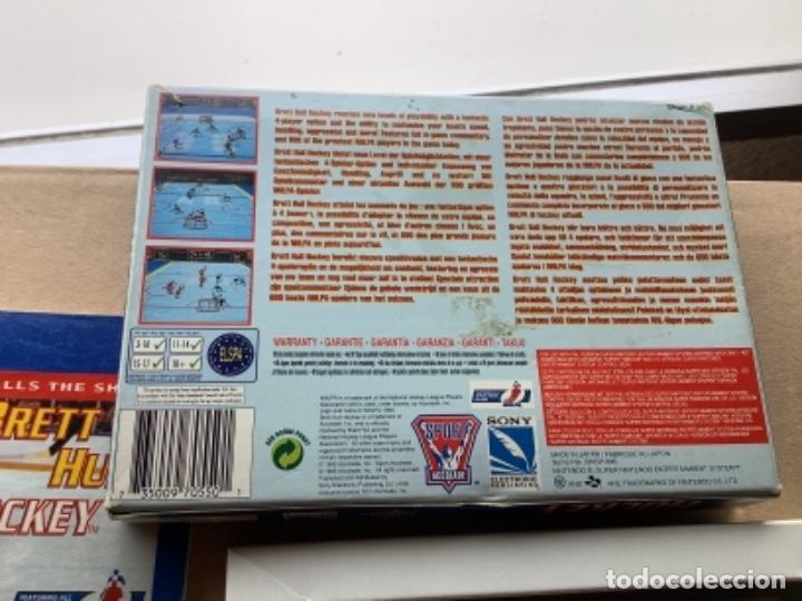 Videojuegos y Consolas: BRETT HULL HOCKEY EN CAJA ORIGINAL 100% SÚPER NINTENDO SNES - Foto 5 - 274905018