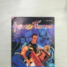 Videogiochi e Consoli: SUPERNINTENDO SNES MANUAL INSTRUCCIONES ART OF FIGHTING. Lote 275059088