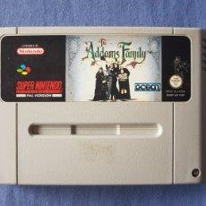 Videojuegos y Consolas: SNES - CARTUCHO ADDAMS FAMILY PAL ESP. Lote 275095188