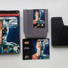 Videogiochi e Consoli: TERMINATOR T2 JUDGEMENT DAY COMPLETO NINTENDO NES. Lote 274933608
