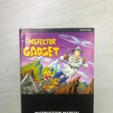 Videojuegos y Consolas: SUPERNINTENDO SNES MANUAL INSTRUCCIONES INSPECTOR GADGET. Lote 275865343