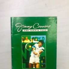 Videojuegos y Consolas: SUPERNINTENDO SNES MANUAL INSTRUCCIONES JIMMY CONNORS PRO TENNIS TOUR. Lote 275866248
