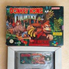 Videojuegos y Consolas: JUEGO DONKEY KONG COUNTRY DE SUPER NINTENDO. Lote 276286988