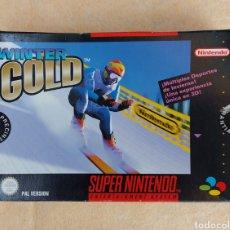 Videojuegos y Consolas: JUEGO WINTER GOLD DE LA SUPER NINTENDO. Lote 276455283