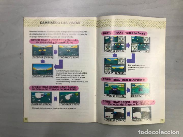 Videojuegos y Consolas: SUPERNINTENDO SNES MANUAL INSTRUCCIONES STUNT RACE FX - Foto 3 - 276488933