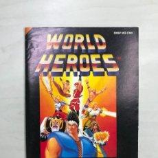 Videogiochi e Consoli: SUPERNINTENDO SNES MANUAL INSTRUCCIONES WORLD HEROES. Lote 276489983