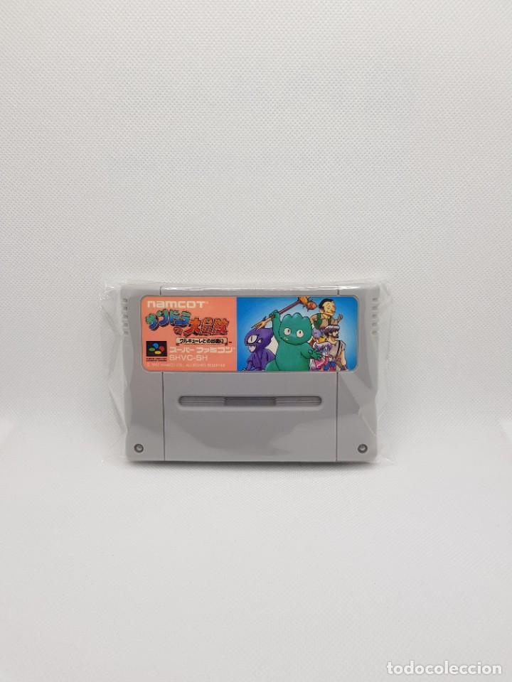 XANDRA NO DAIBOUKEN SANDORA WHIRLO SUPER FAMICOM (Juguetes - Videojuegos y Consolas - Nintendo - SuperNintendo)