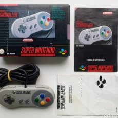 Videojuegos y Consolas: MANDO CONTROLLER COMPLETO SUPER NINTENDO SNES. Lote 276667638