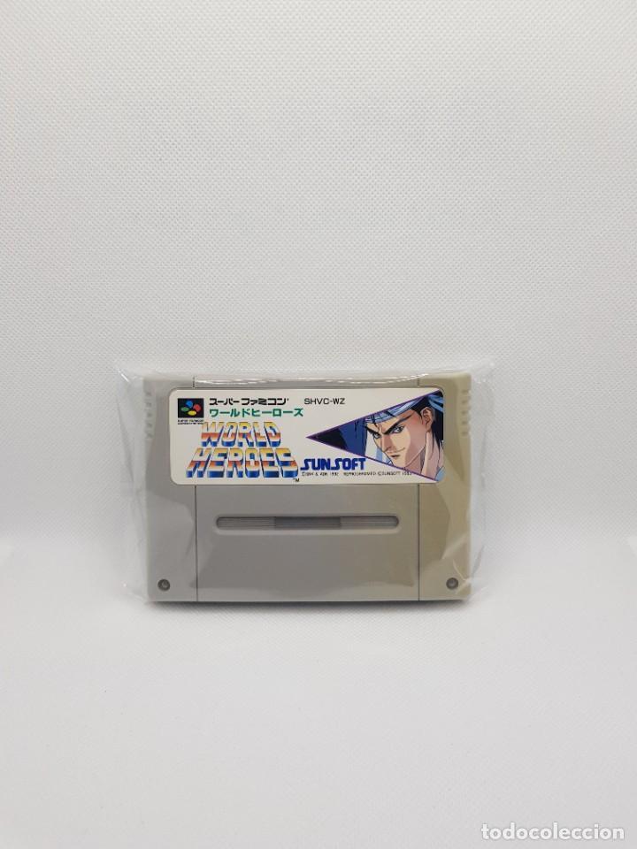 WORLD HEROES SUPER FAMICOM NTSC-J (Juguetes - Videojuegos y Consolas - Nintendo - SuperNintendo)