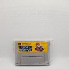 Videojuegos y Consolas: SUPER MARIO KART SUPER FAMICOM NTSC-J. Lote 276758613