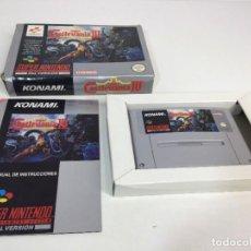 Videojuegos y Consolas: SUPER NINTENDO SUPER CASTLEVANIA IV CON SU CAJA ORIGINAL. Lote 276815933
