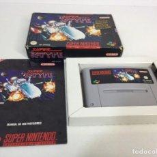 Videojuegos y Consolas: SUPER NINTENDO SUPER R-TYPE CON SU CAJA ORIGINAL. Lote 276816348