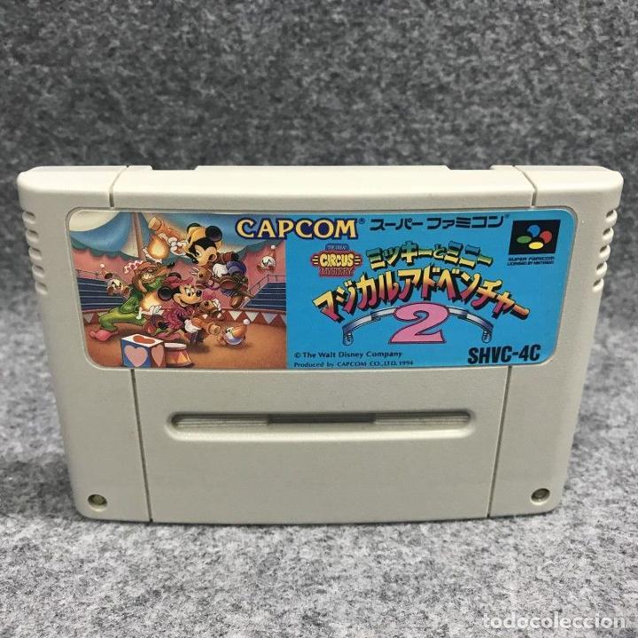 MICKEY TO MINNIE MAGICAL ADVENTURE 2 JAP CARTUCHO (Juguetes - Videojuegos y Consolas - Nintendo - SuperNintendo)