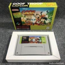 Videojuegos y Consolas: DISNEY GOOF TROOP REPRO SUPER NINTENDO SNES. Lote 277234128